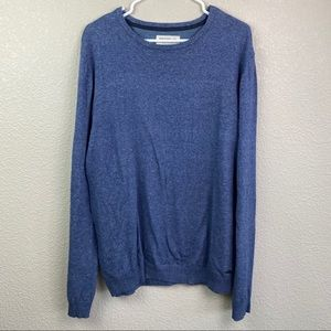 Heritage Report Medium Blue Sweater